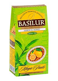 BASILUR Magic Green Lemon & Honey