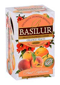 BASILUR Fruit Orange Peach